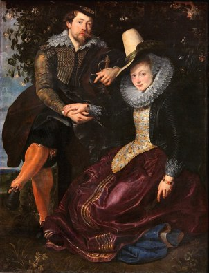 800px-Peter_Paul_Rubens_Peter_Paul_Rubens_-_The_Artist_and_His_First_Wife,_Isabella_Brant,_in_the_Honeysuckle_Bower