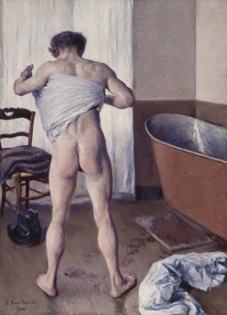 Gustave_Caillebotte_-Man_at_His_Bath