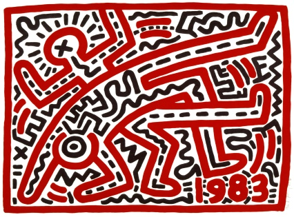 Keith Haring Untitled 1983