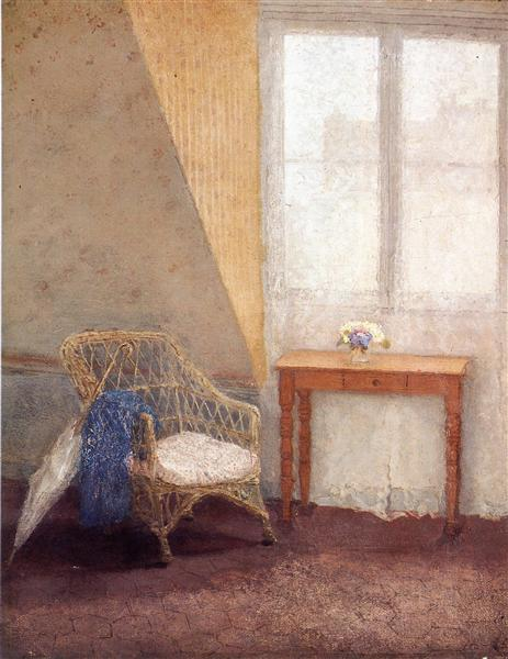 A Corner of the Artist's Room, van Gwen John