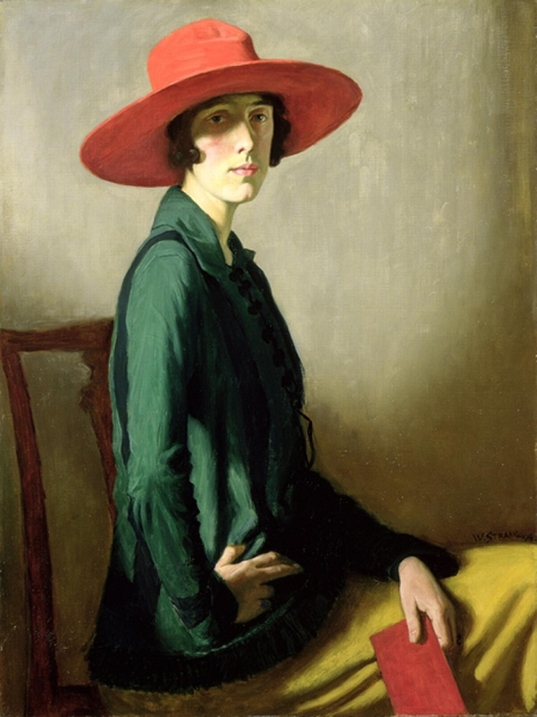 Vita Sackville-West, geschilderd door William Strang